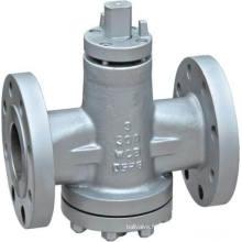 Vanne à boisseau sphérique équilibrée à pression inversée (GAX47F)