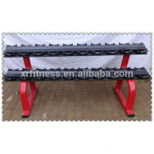 Gewichthebenbank-Handelsgymnastikausrüstung Hantelständer (10 Paare)