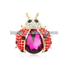 Unique design luxuoso broche broche de moda de moda magnética