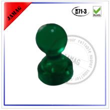 2015JM Hot Sale Colorful neodymium magnetic push pin