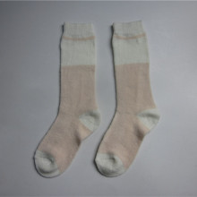 Girls New Coming Pink Knit Socks