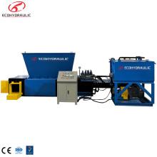 Máquina de prensa enfardadeira para latas de alumínio exportadas da nova moda