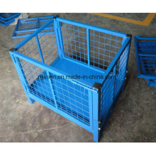 Wire Mesh Box Collapsible Warehouse Pallet