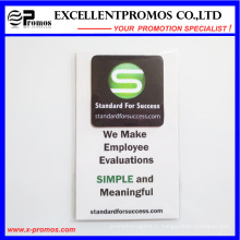 Nettoyeur d'écran autocollant pour téléphone mobile Microfiber à vente chaude (EP-C7178)