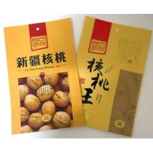 Emballage de sac de noix / noyer avec le gousset / sac en plastique de casse-croûte