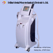 (CE) 3 Handles E-Light RF Laser Hair Removal Wrinkle Removal Tattoo Removal Beauty Equipment