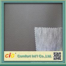Tissu en cuir en PVC PVC haute qualité pour voiture