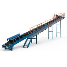 Ske Belt Conveyor for Mine Ore Rock and Quarry Plant Sand Gravel Aggregate