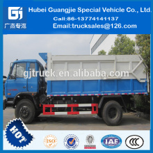 2016 Automatic Widely used docking garbage Truck, dump/garbage truck /dongfeng chassis12 m3 Dock Truck