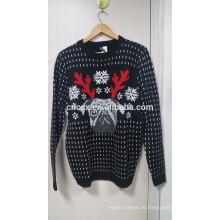 16PKCS05 2017 Erwachsene führten leichten Pullover für Weihnachten