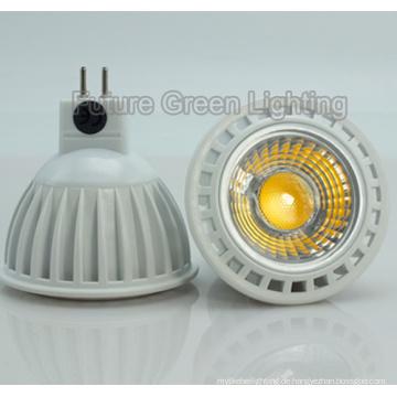 COB LED MR16 Licht 38 ° / 45 ° / 60 °