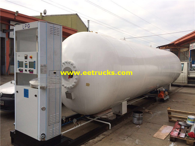 50000L LPG Skid-mounted Plants
