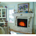 NEWEST design burning wood fireplace electrical heater