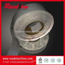 tecido elástico reflexivo de alta visibilidade lateral dobro para vestuário