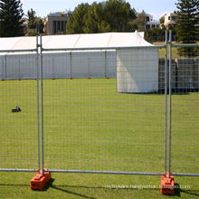 Easily Installed And Moved Temporary Metal Fence