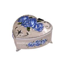 Factory Wholesale Metal Necklace Box, Heart Shape Necklace Box