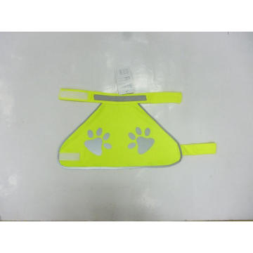 Pet Dog High Visibility Reflective Vest with Paws Print