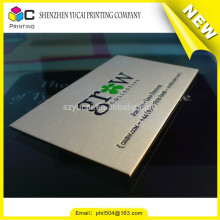 Silk screen embossing business card organizer
