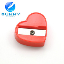 Heart Shape Funny Big Pencil Sharpener for Promotion