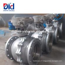 Composant de robinet à tournant sphérique actionné par air de flotteur en acier moulé Din Sport de l'image 3pc Grainger Dn15