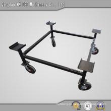 Construcción robusta de acero para ruedas