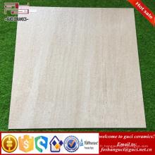 L'usine chinoise de tuile fournit 600X600mm carreaux de sol en céramique vernissés rustiques pour la conception de la pièce