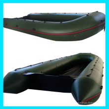 Barco de la velocidad del PVC de 0.9m m, plegable barco
