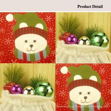 Cordão de doces de saco de Natal venda quente urso
