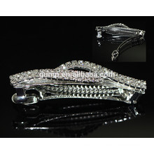 Cheap Rhinestone Hairgrip Girls Headwear Glitter Crystal Barrette