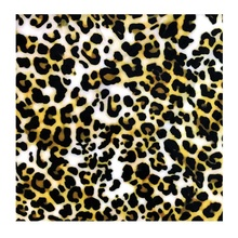 Knitted Polyester Stretch Leopard Printed Spandex Fabric