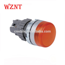22mm flat push button micro switch led with CE, CCC