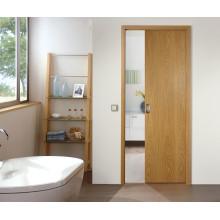puerta corrediza interior de madera para carril colgante