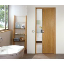 wooden interior hanging rail sliding door