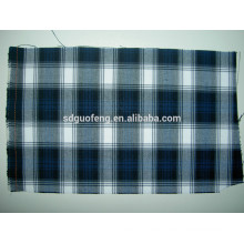 Factory direct sale wholesale yarn-dyed fabric gingham cotton jacquard fabric cloth fabric
