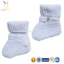 Latte Baby Cachemire Booties Vêtements de bébé de luxe