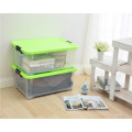 Transparent 35L Storage Boxes Containers with Lids