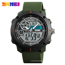new arrival SKMEI 1361 sport hand band clock time watch hot selling good quality analog digital watch men