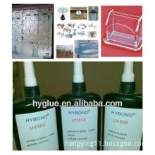 UV Curing Adhesive/Glue for glass to glass/metal/plastic