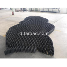 Textured and Perforated HDPE Geo-cells/gravel grid