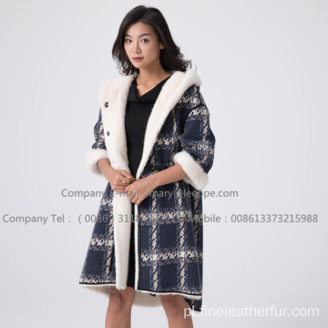 Kopenhagen Winter Velvet Mink Coat For Women