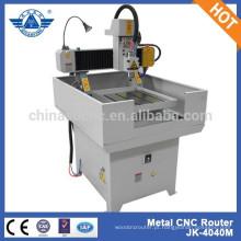 JK - 4040M económica máquina de gravura metal pequeno de controle de computador