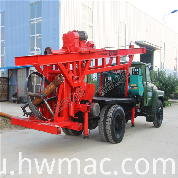 artesian well drilling machine