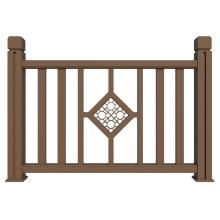 Anti-UV eco-friendly composite porch railing