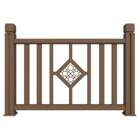 New generation outdoor	steel deck railing