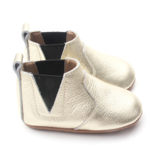 Gold weiche Sohle Baby Casual Boots 2018