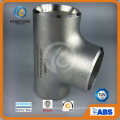 T de igual de aço inoxidável de acessórios de solda de topo com TUV (KT0328)
