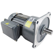 CV18-100-5S  thre phase 5:1 ratio 220V/380V 100W electric ac motor with gearbox
