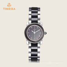 Alta qualidade relógio de pulso de cerâmica de quartzo para senhoras 71132