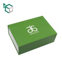 Carpeta de presentación plegable de cartón gris Caja de almacenamiento exquisita