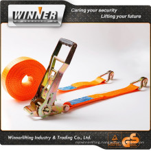 Orange color sling retractable cargo cover